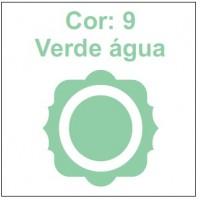 Cor 9: Verde água